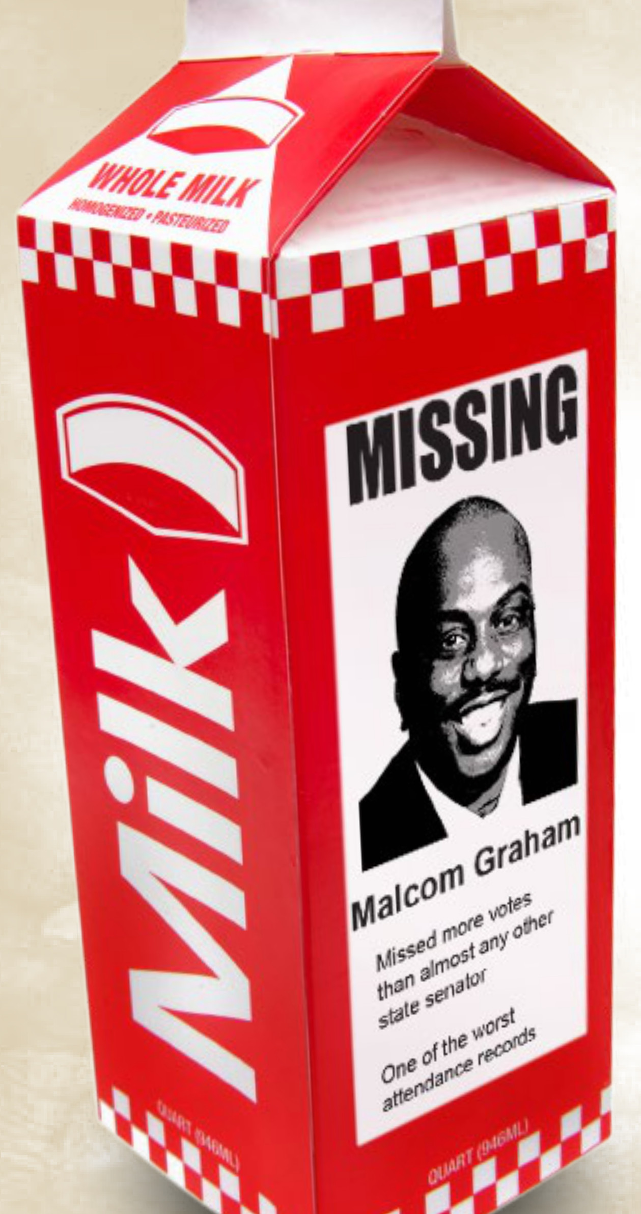 Malcolm Graham is Missing